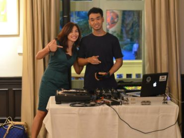DJ En and HBD to Alliz
